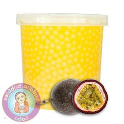 Popping Passion Fruit Boba 42 Ounces/12+ Drinks Buddha Bubbl
