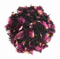 Rose Black Tea Natural Petal Fresh Blend 500 Grams Healthy H