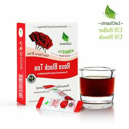 Rose Extract Black Tea to go All Natural Unsweetened Instant