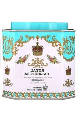 Royal Palace Tea Tin Blend of Black Teas 30 Sachets 2.67 Oun
