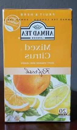 Ahmad Tea's Mixed Citrus Zeesty Orlange & Lemon  Tea Bags -