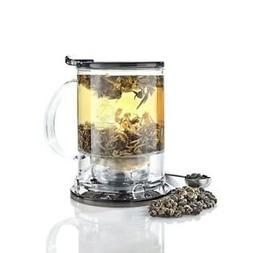 Teavana Set: Black Perfectea Maker 16 oz and Youthberry Whit