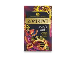 Twinings Spicy Chai Warming Flavor of the Spices of India, G