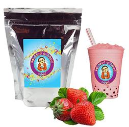 Strawberry Cream Boba / Bubble Tea Powder By Buddha Bubbles