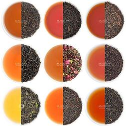 Black Tea Sampler - 10 TEAS, 50 Servings | 100% Natural Ingr