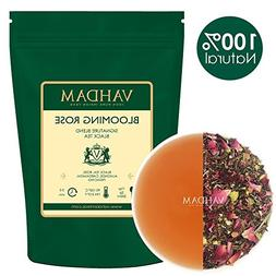 VAHDAM, Blooming Rose Tea  | 100% NATURAL Black Tea Leaves,