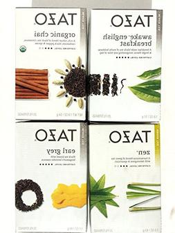 TAZO Tea Sampler - 4 Box Variety Set