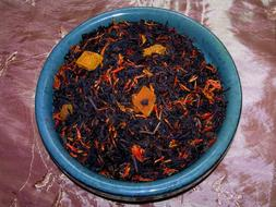 Tea Peach Black Fruit Symphony Flavored Loose Leaf Aged Loos