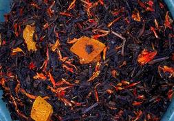 Tea Peach Mango Deep Black Fruit Sonata Flavored Loose Leaf