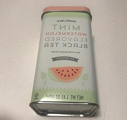 Trader Joe's New Summer Mint Watermelon Flavored Black Tea T