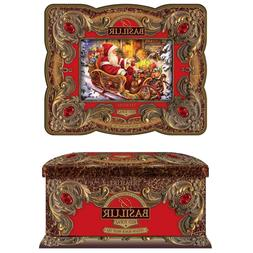 Basilur Treasure Collection Gift Tin - Red Topaz - Ceylon Bl