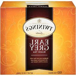 Twinings of London Earl Grey Black Tea Bags, 100 Count