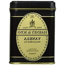 Vanilla Black, Loose Tea in 4 Ounce Tin By Harney & Sons