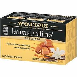 Vanilla Caramel Black Tea 129 Bags, 20 Count  Caffeinated Bl
